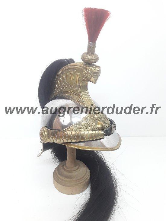 Casque troupe cuirassier modèle 1872/74 France ww1