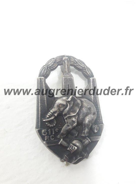 Insigne 511 ème Régiment Chars de Combat France 1940