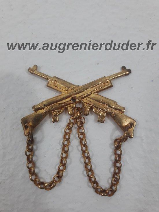 Insigne / prix de tir mitrailleuse France ww2