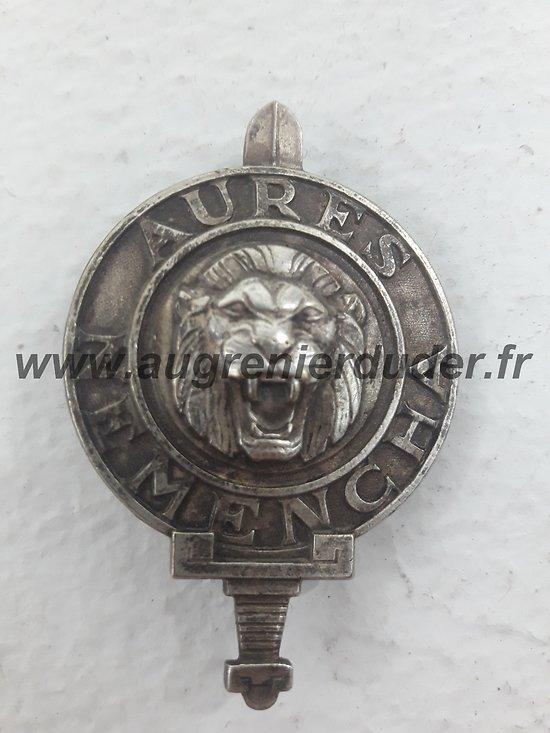 insigne Aures Nemencha France 1956