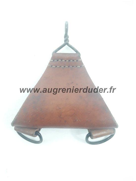 Trapeze dorsal brelage cuir 1935 France ww2