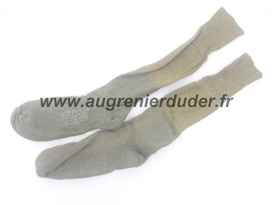 Chaussettes traitées anti gaz US ww2