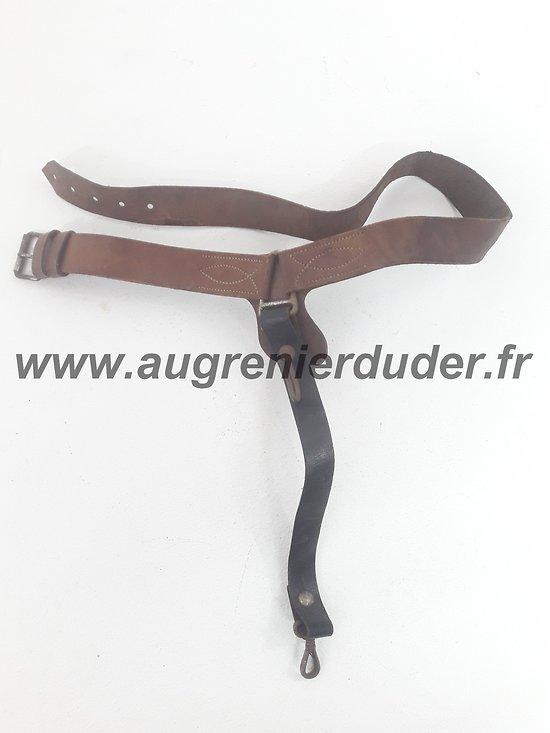 Ceinturon d'officier cavalerie légère France ww1