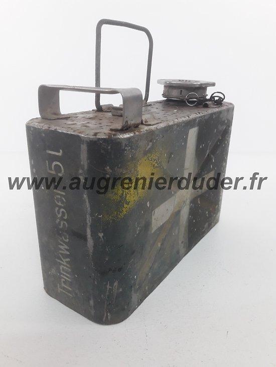 """Bidon """"trinkwasser"""" Luftwaffe ww2"""