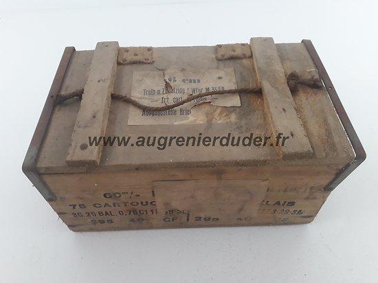 caisse de prise relais et cartouches Allemagne ww2