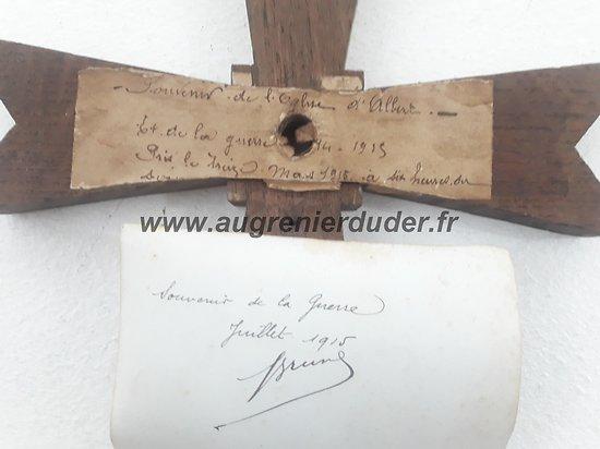 Relique Albert 1915 Nord France ww1