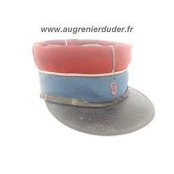 Képi 9 ème régiment de cavalerie légère France ww1
