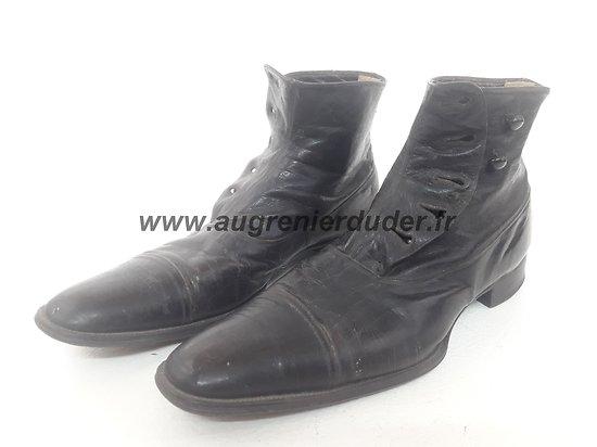 Chaussures / souliers officier France ww1
