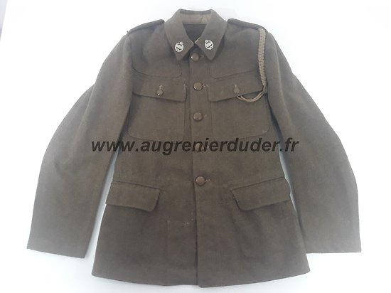 Vareuse service dress Tankiste Anglais ww2