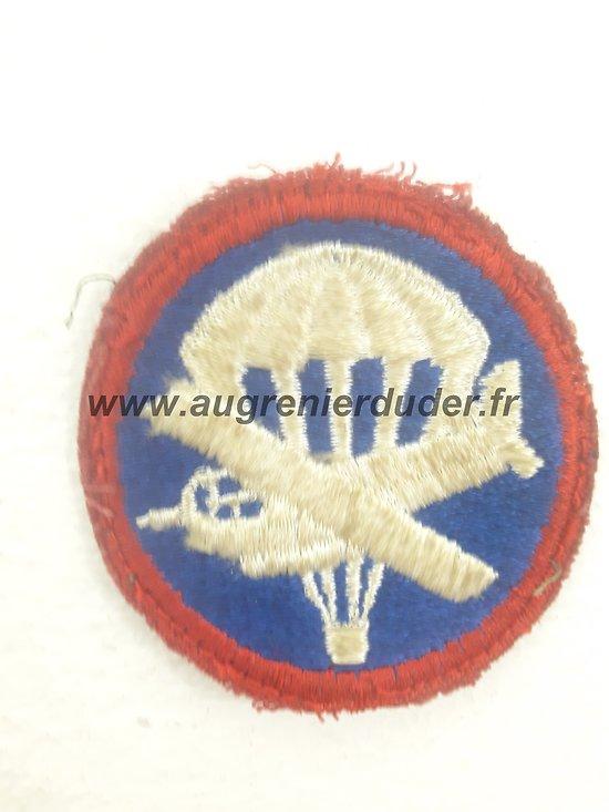 Patch tissu parachutiste US ww2