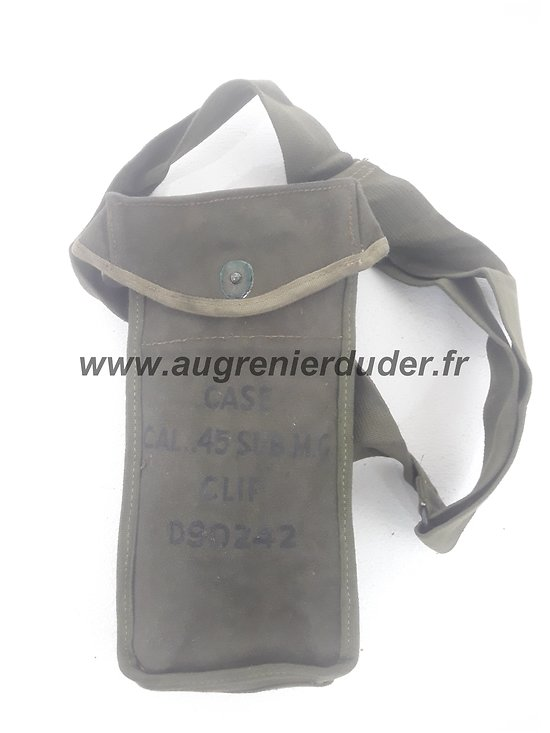 Musette munitions Grease Gun US ww2