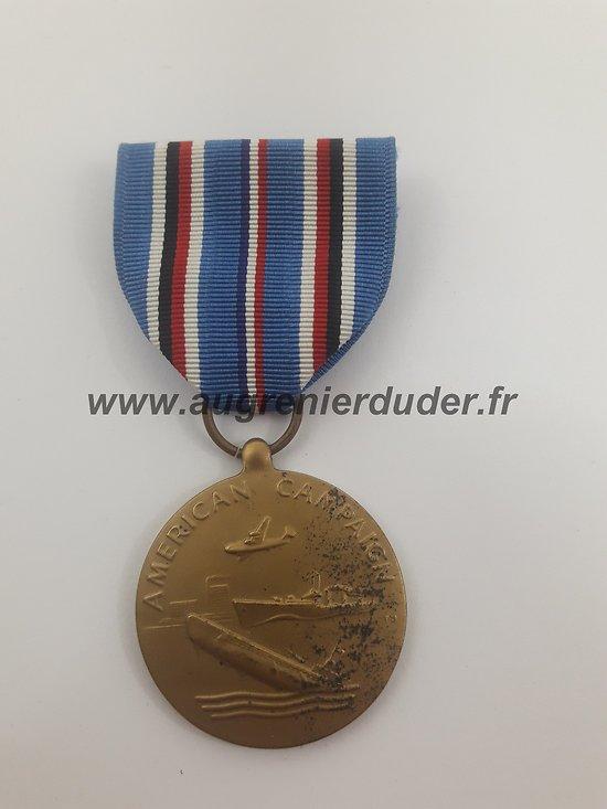médaille American Campaign