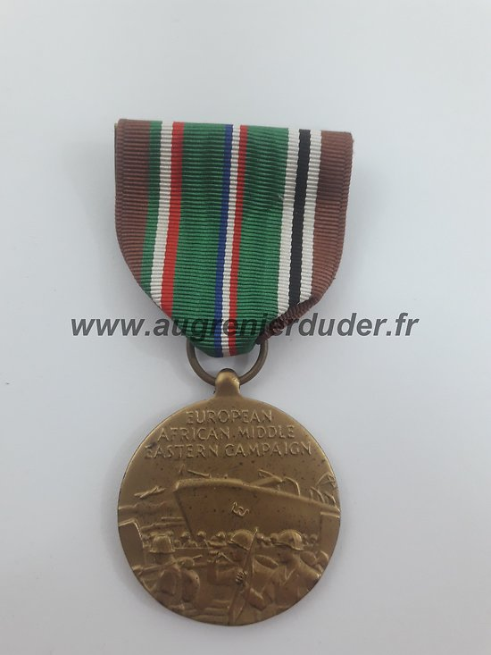 médaille European African middle Eastern Campaign US ww2