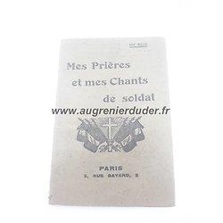 Livret prières  France ww1