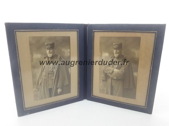 Portaits photo lieutenant colonel 14 éme  RI France ww1