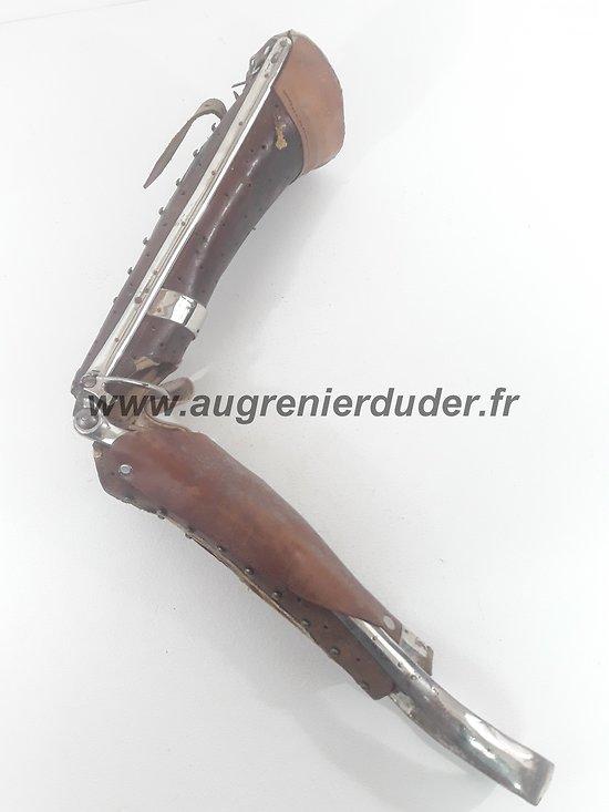 Prothèse blessé de guerre France ww1