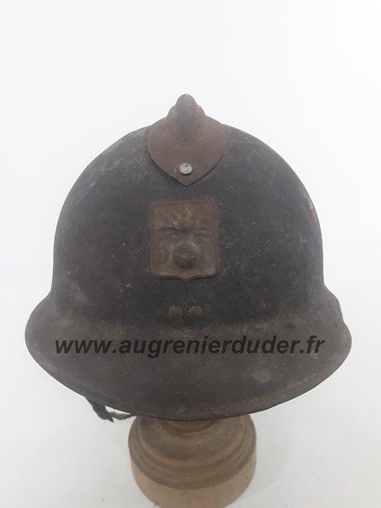 casque Adrian défense passive modèle 1926 France ww2