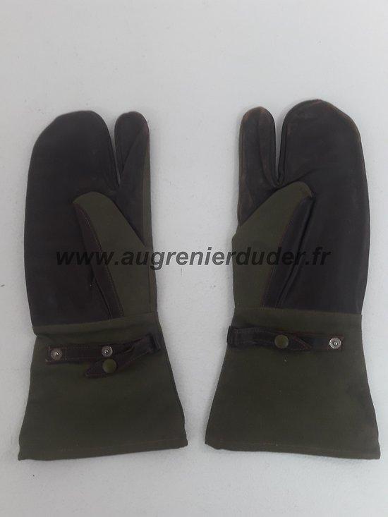 Paire de gants motorisés France Indochine Algérie