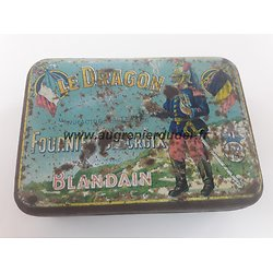 Boite de tabac dragon  France ww1 / ww2