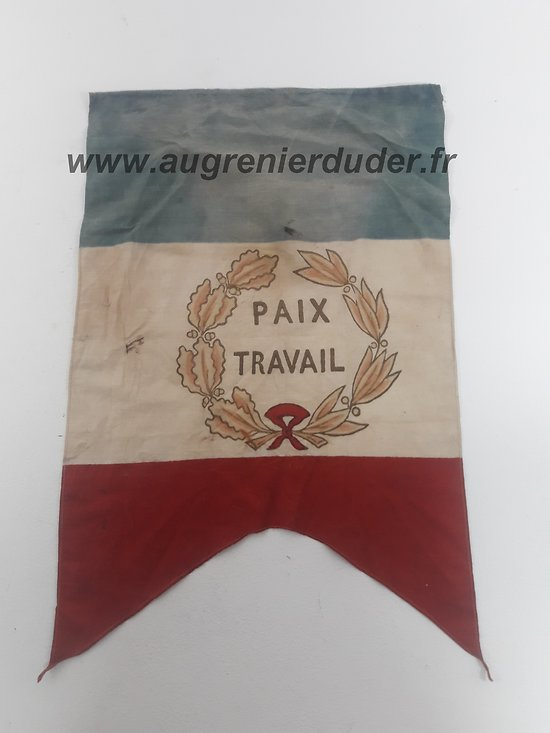 Fanion / drapeau France ww2