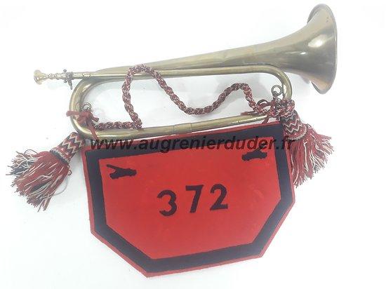 Clairon et flamme 372ème ALVF France 1920-1940