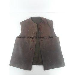 Leather Jerkins Anglais ww2