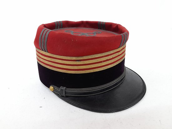 Képi foulard officier médecin  France ww1