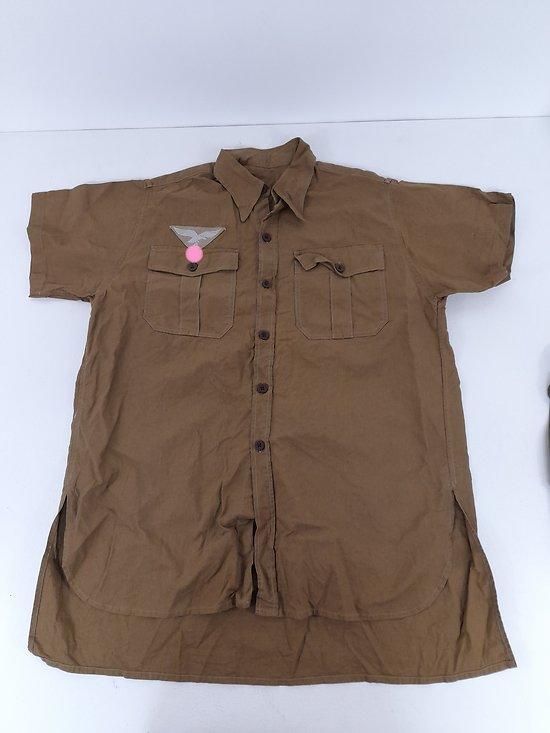 chemise tropicale Luftwaffe ww2