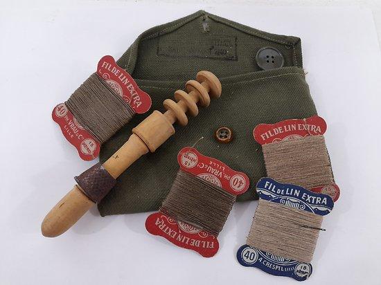 trousse à couture 1940 France ww2