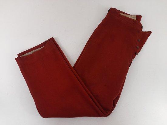 Pantalon garance infirmier1867/93 France ww1