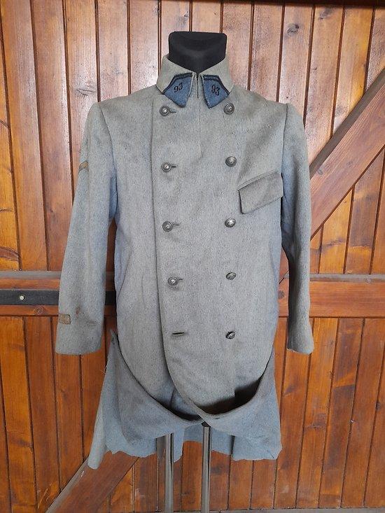 Capote modèle 15 officier France ww1