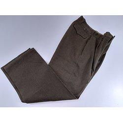Pantalon modèle 45 daté 1952 France Indochine
