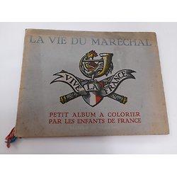 Album a colorier Maréchal France ww2