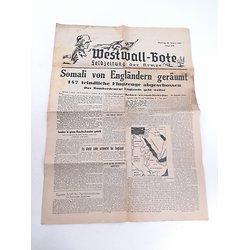 Journal Allemand ww2 20/8/1940