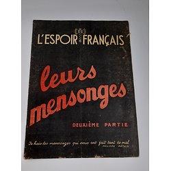 """livret """"l'espoir Francais"""" Pétain ww2"""