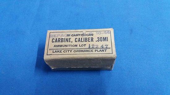 Boite de cartcouches carabine USm1 1944