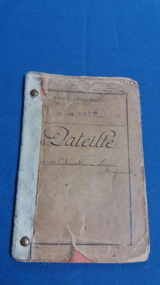 Livret individuel 1940/FFL/Italie