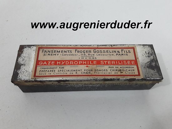 Compresse / bandage Français ww1/ww2