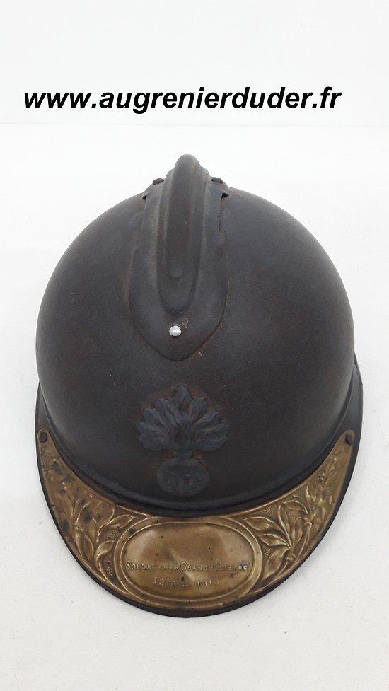 Casque Adrian infanterie France ww1