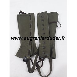 Guetres m1938 leggings US wwII
