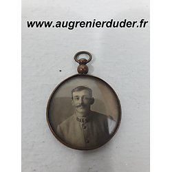 Pendentif photos poilu France wwI