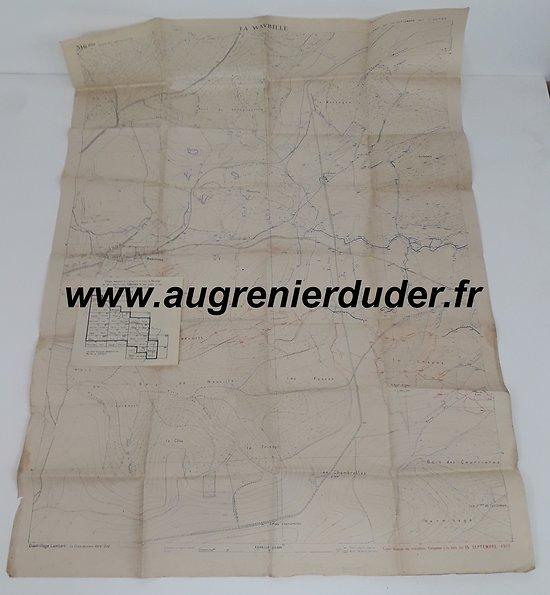 Canevas de tir Secret 1917 France ww1