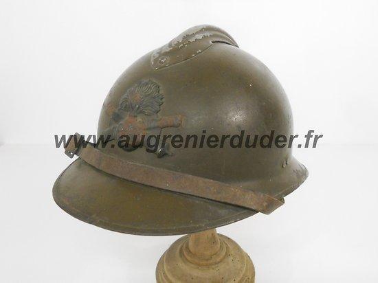 Casque artillerie modèle 1926 France wwII