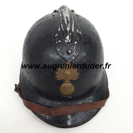 Casque Adrian gendarmerie modèle 1926 France wwII