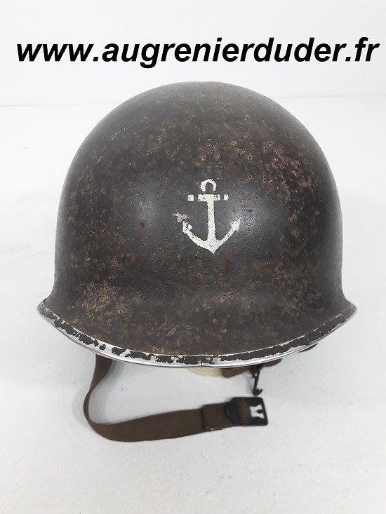 Casque M1 infanterie coloniale