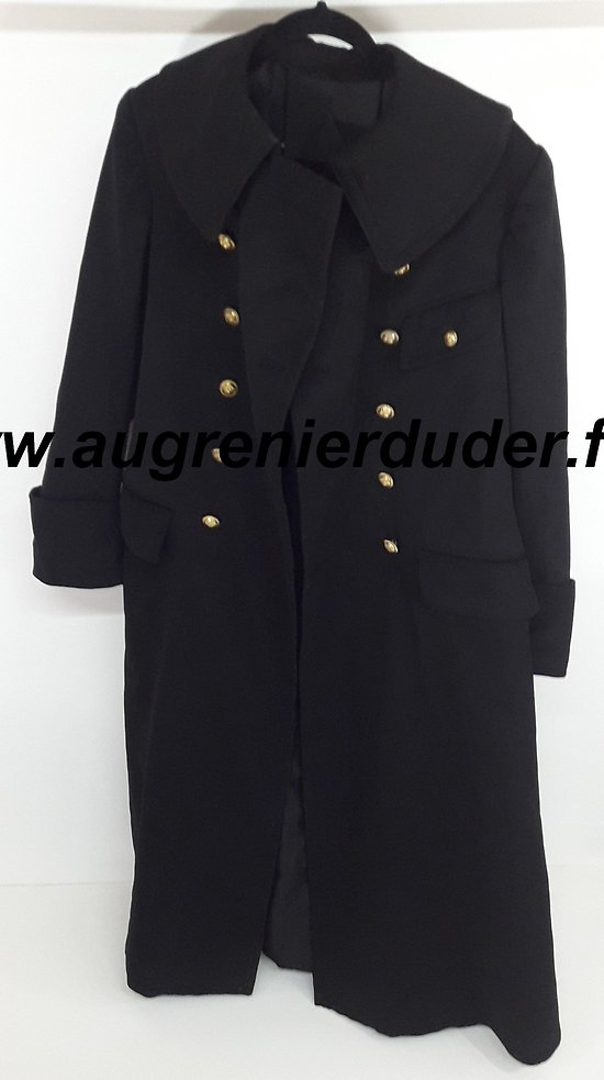 Manteau noir officier / officer coat  1914 France wwI