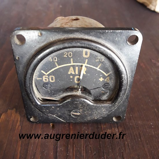 Jauge RAF / Air temp gauge wwII
