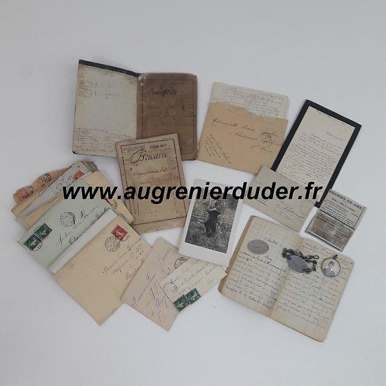 Ensemble familial 1914/1918 France