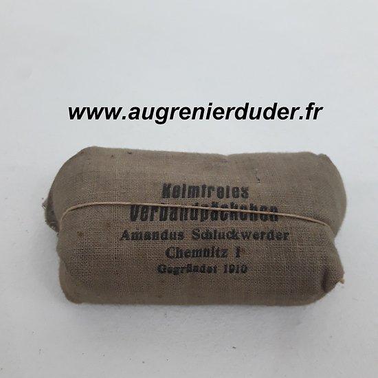 Pansement Allemand wwI  German medic bandage