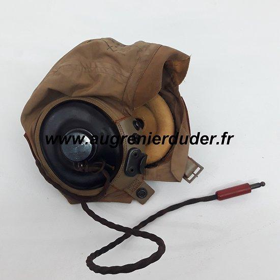 Bonnet de vol AN-H-15 helmet flight USA wwII